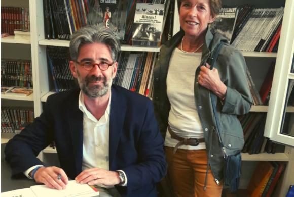 L'auteur Grégoire THONNAT à la librairie !