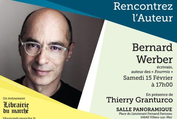 Rencontrez Bernard WERBER avec la Librairie du Marché
