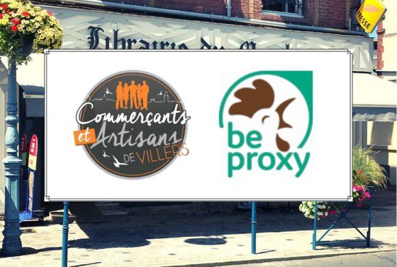La Librairie du Marché adhère à «Be Proxy»